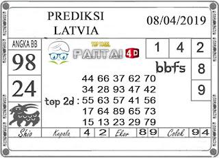 """Prediksi Togel """"LATVIA"""" PANTAI4D 08 APRIL 2019"""