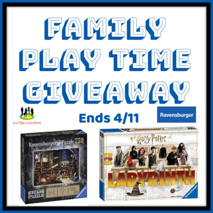 Family Play Time Giveaway