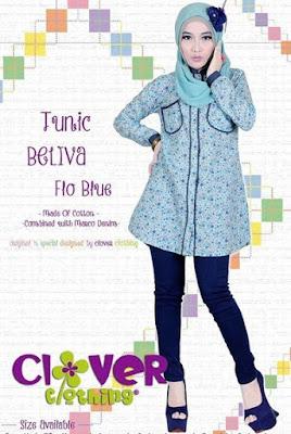 Model Baju Muslim Dewasa Bahan Katun Terbaru