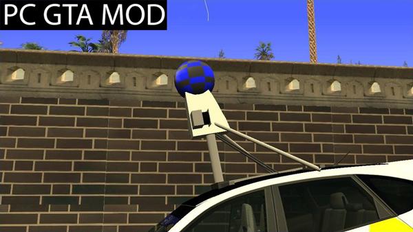 Free Download  Subaru Impreza Google Street View Car Mod for GTA San Andreas.