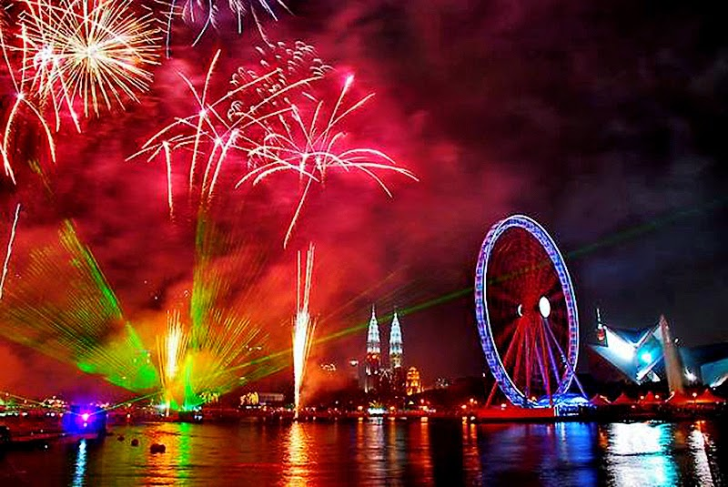 New Year Eve 2015 In London Celebration Fireworks