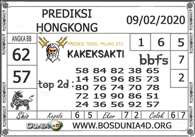 Prediksi Togel HONGKONG DUNIA4D 09  FEBRUARI 2020