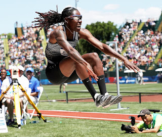 After Brittney Reese won gold in the long jump at the London Olympics in 2012, she was on top of the world. But in the years following, she faced many struggles.