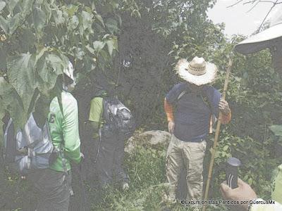 Excursionistas en el Cerro La Lima, Jocotepec