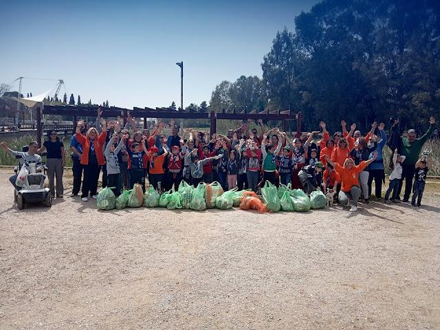 Εθελοντική Ομάδα Προτέκτα Ιλίου: Let's do it Ίλιον ... με μεγάλη δράση στο Πάρκο Τρίτση! (Photos)