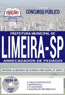 Baixar Apostila Concurso Prefeitura de Limeira 2018 PDF