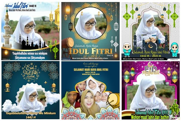 100 Bingkai Foto Ucapan Selamat Hari Raya Idul Fitri 1442 H Tahun 2021 Untuk Status Whatsapp