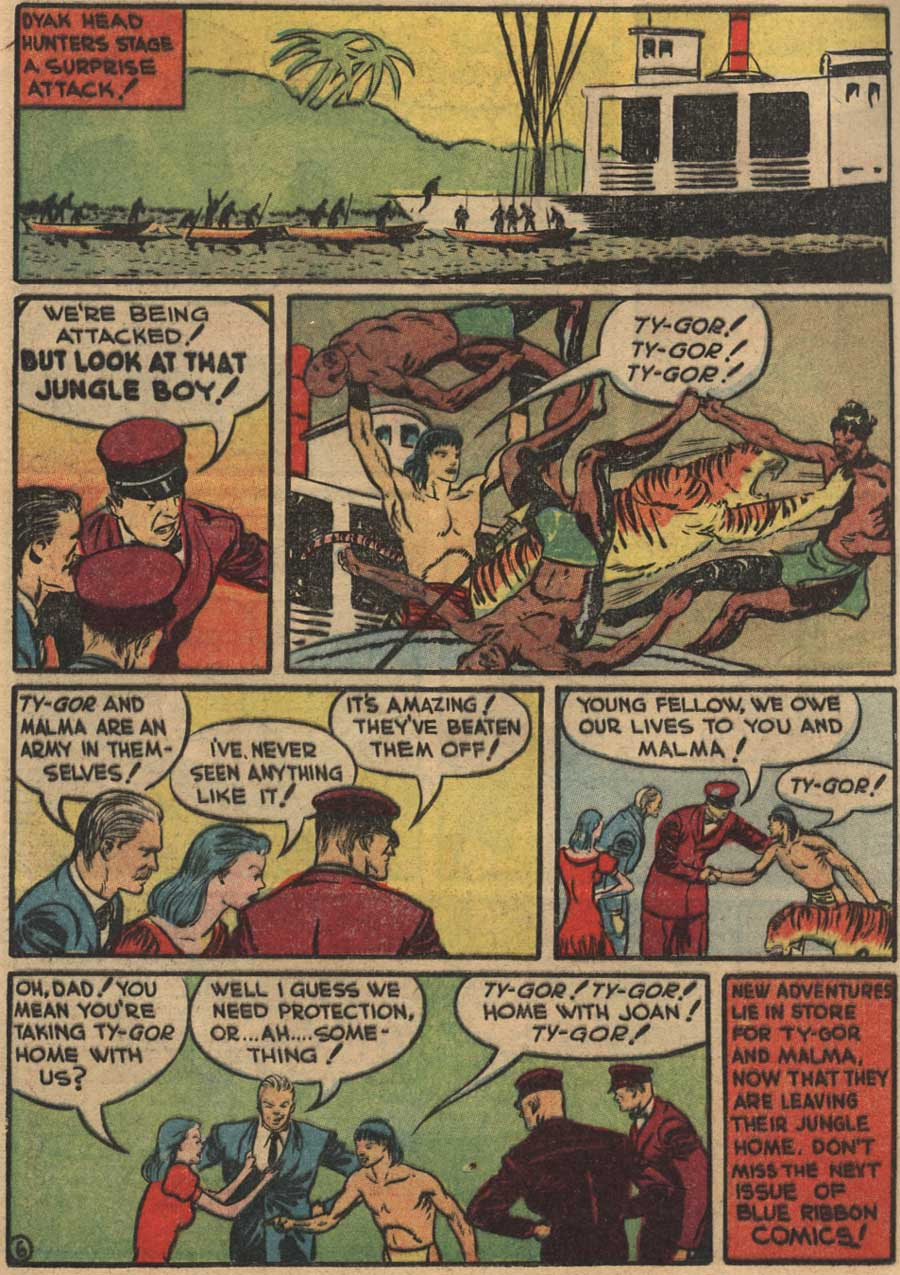 Blue Ribbon Comics (1939) issue 7 - Page 48