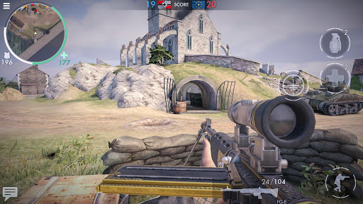 تحميل لعبة World War Heroes مهكرة للاندرويد اخر اصدار