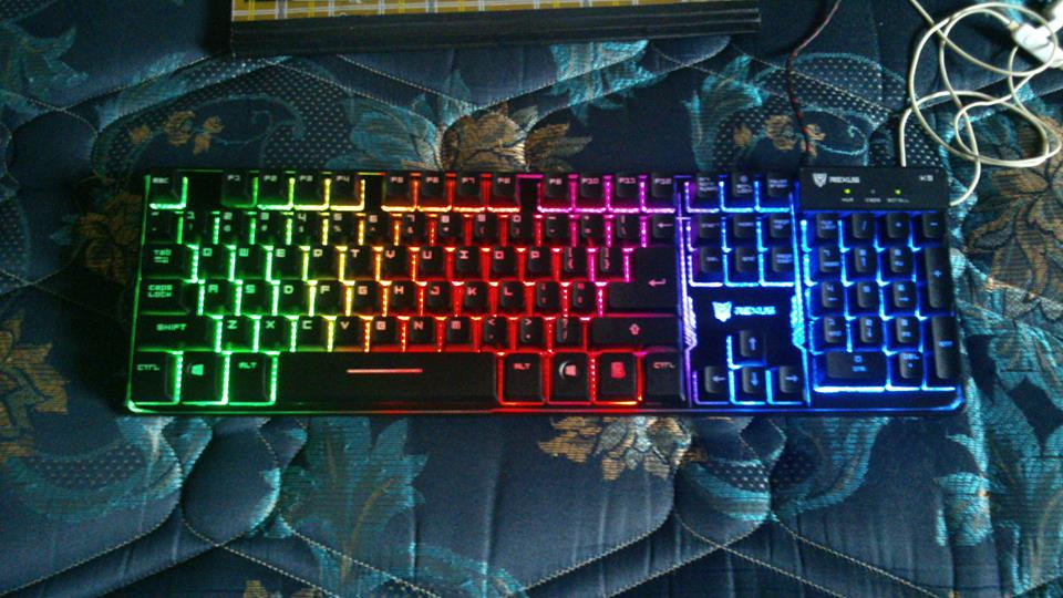 Zaidan Review Review Keyboard Rexus K9 Fortress Dengan Led Chroma