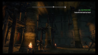 Elaborate architecture within a mini-dungeon