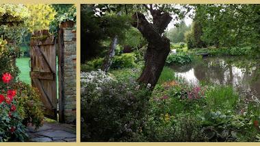 Fullers Mill Garden. Jardines junto al río Lark