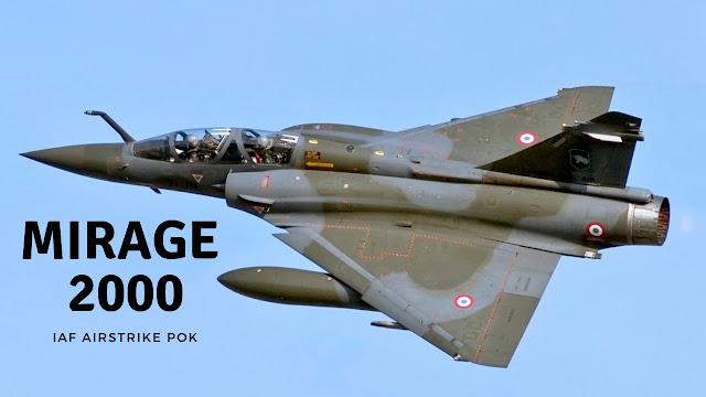 Mirage 2000 Fighter Jet -pok  airstrike