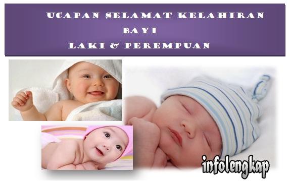 Kumpulan Ucapan Selamat Kelahiran Bayi Laki Perempuan Info Lengkap