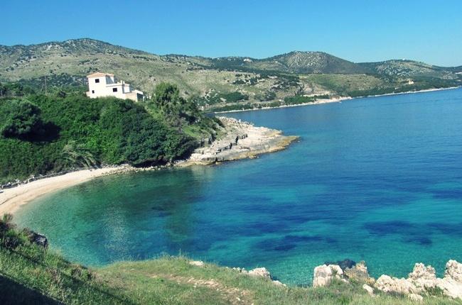 lush Corfu island nature