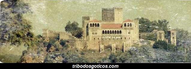 castelo gotico para festas