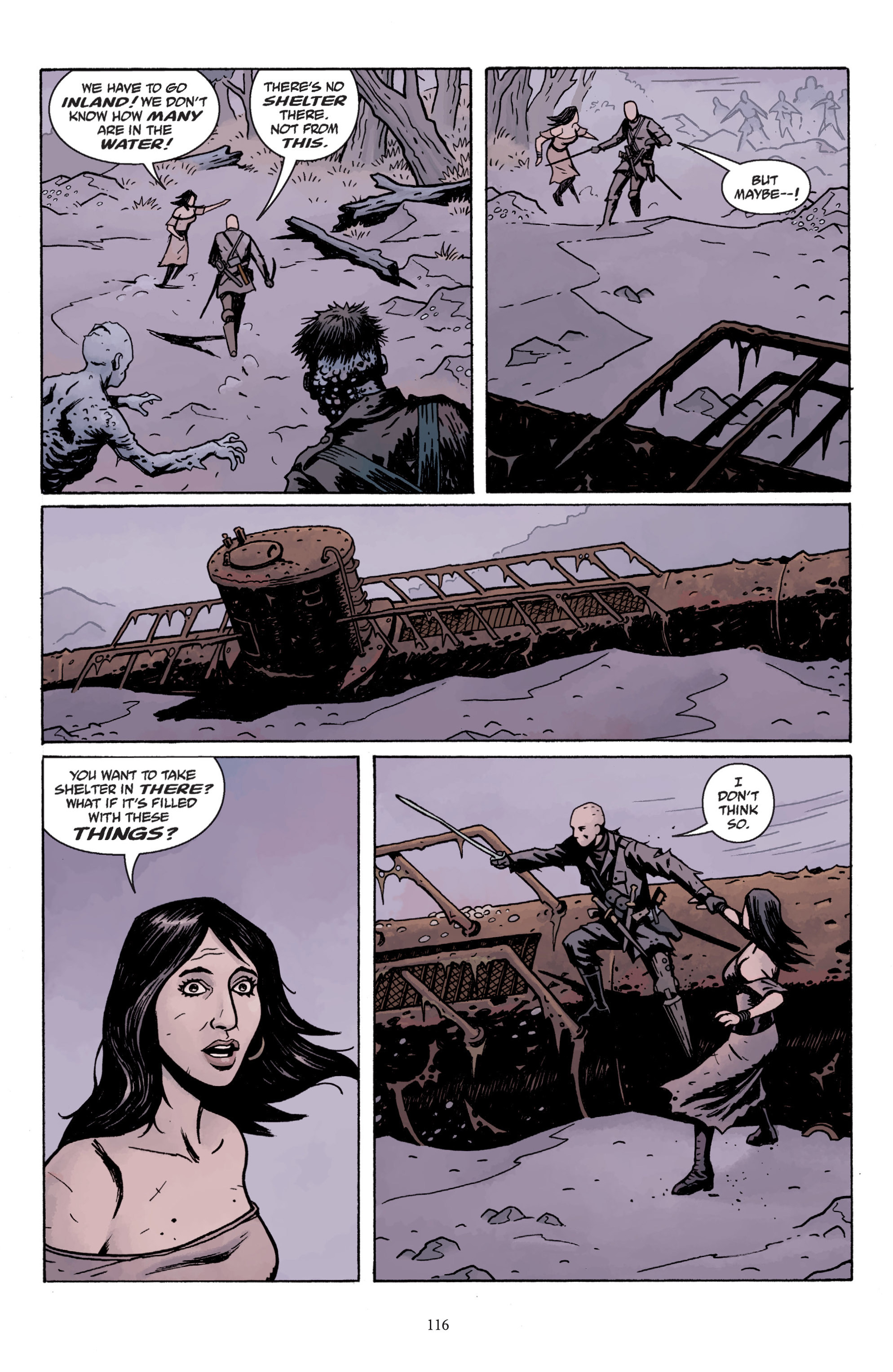 Read online Baltimore: The Plague Ships comic -  Issue # TPB - 115