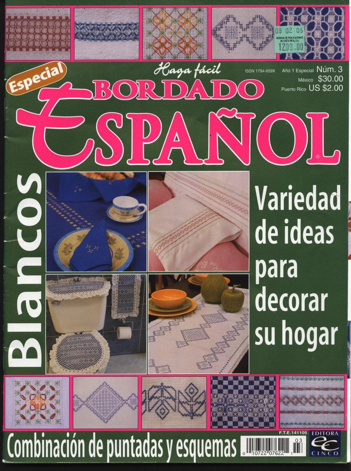 REVISTAS DE MANUALIDADES GRATIS Bordado Espaol n 3 2003