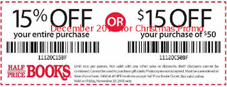 Half Price Books coupons december