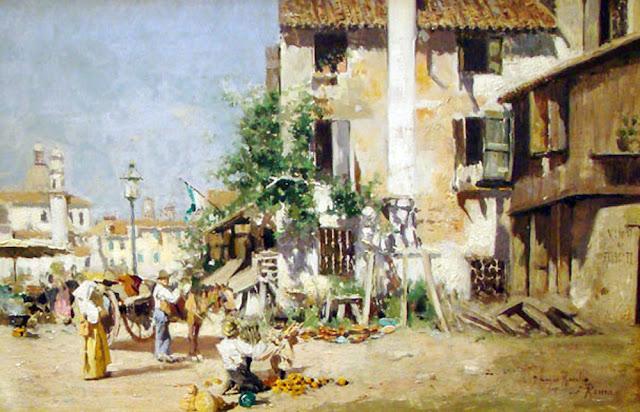 Joaquín Luque Roselló, Paisajistas españoles, Paisajes de Joaquín Luque Roselló, Pintor español, Pintores de Málaga, Pintores Malagueños, Pintores españoles, Joaquín Luque