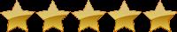 WIX Website Builder Rating 5 stars