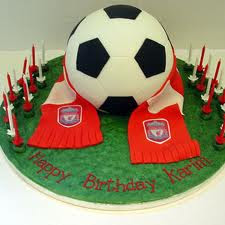 Football Birthday Cakes For Boys Football Birthday Cakes