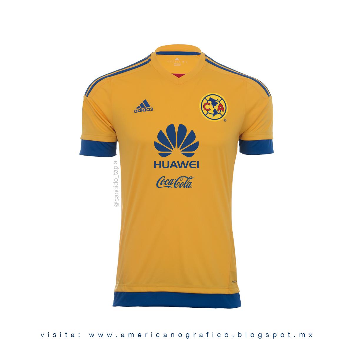 782a3628d AMERICAnografico  Jersey Club América - Adidas V1