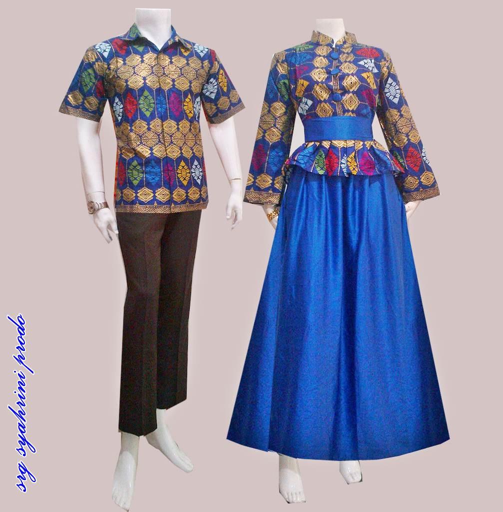 Batik Bagoes Solo Baju Sarimbit Gamis Batik Syahrini Prodo