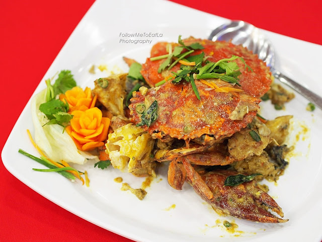 Salted Eggs Mud Crab