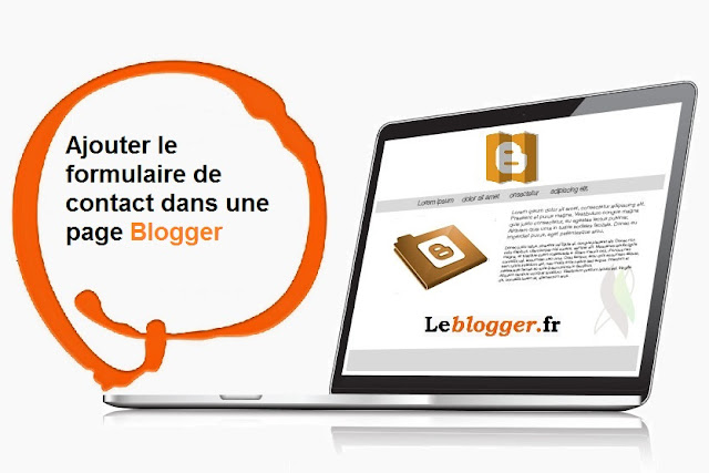 Ajouter le formulaire de contact dans une page Blogger