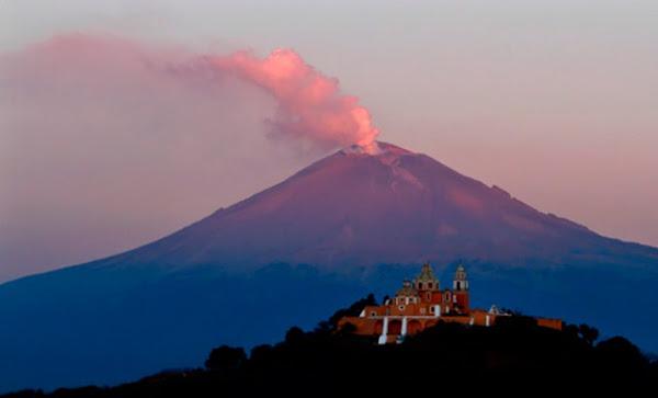 El volcán Popocatépetl hizo erupción luego del terremoto de México