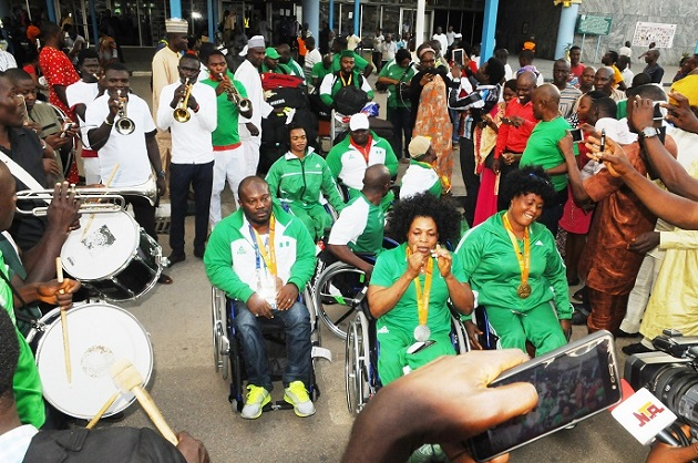 Image result for Nigerian Paralympians call on Govt to reward Athletes