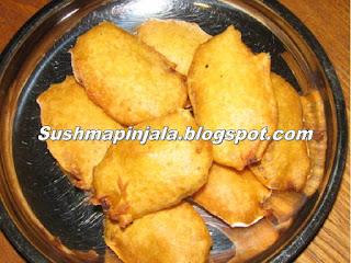 Aritikaya Bajji / Raw Banana Fritters