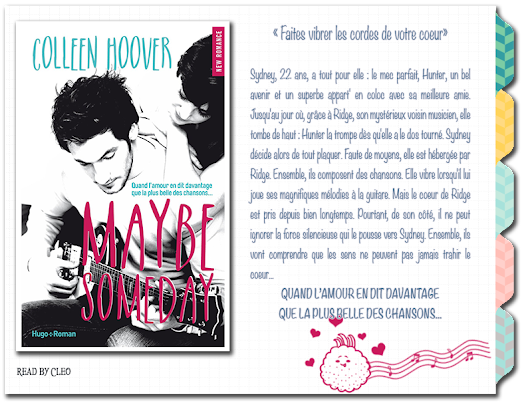 Maybe Someday - Tome 1, de Colleen Hoover