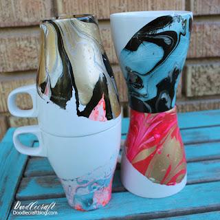 http://www.doodlecraftblog.com/2016/08/marbled-dipped-mugs.html
