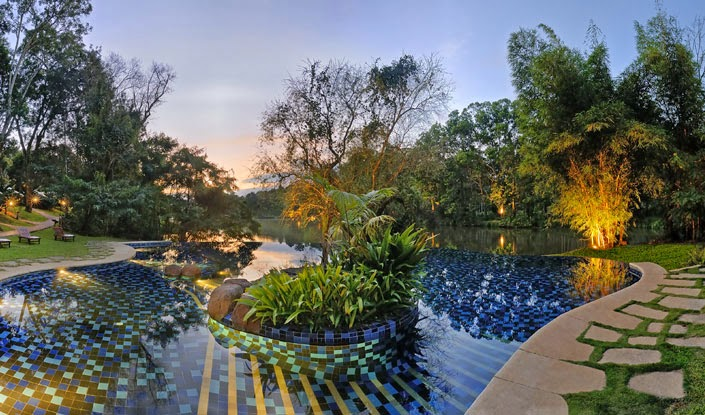 Infinity Pool at the Orange County Coorg