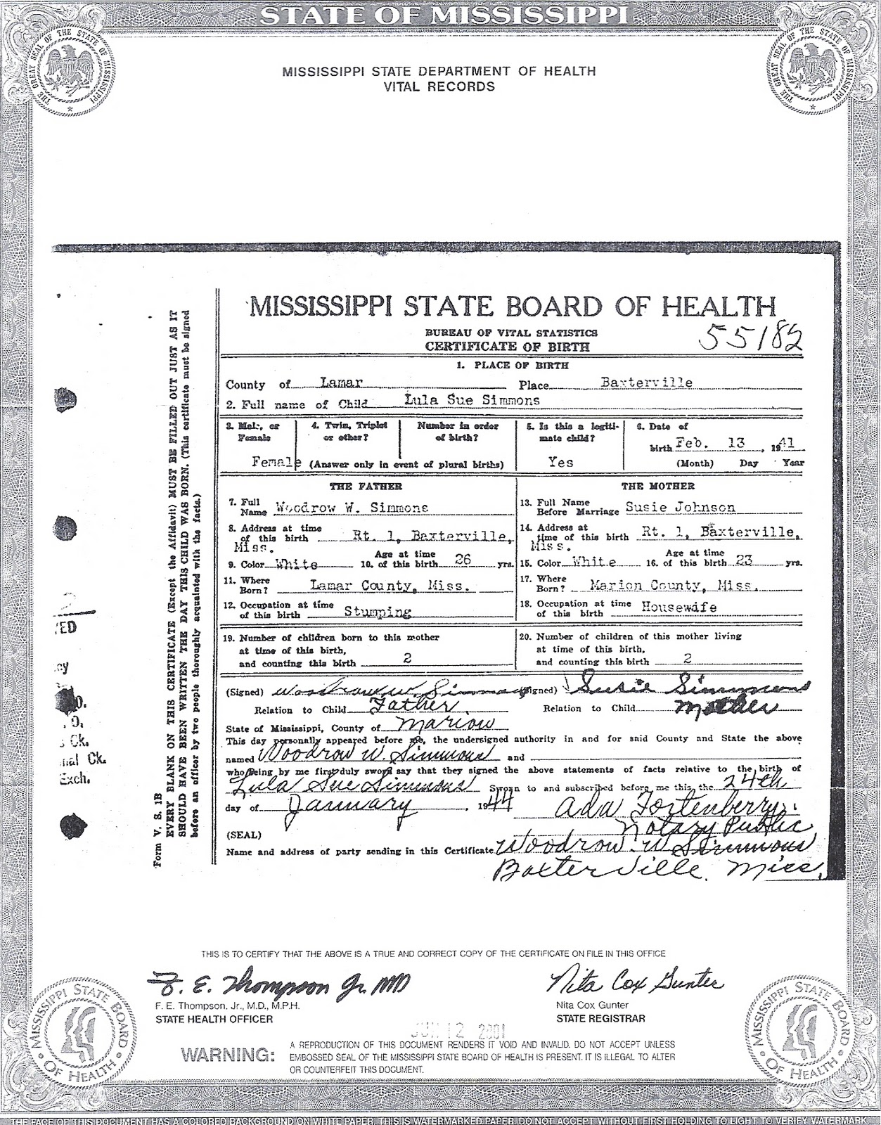 The family snoop lula sue simmons lula sue simmons birth certificate xflitez Gallery