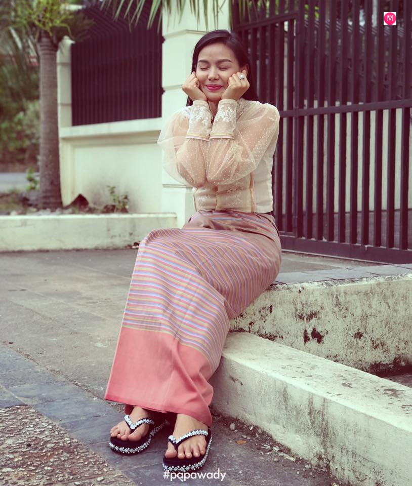Ma Aye Thaung - Myanmar Female Celebrity Star of 2017 Photos Collection