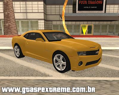 Chevrolet Camaro SS 2010 para grand theft auto