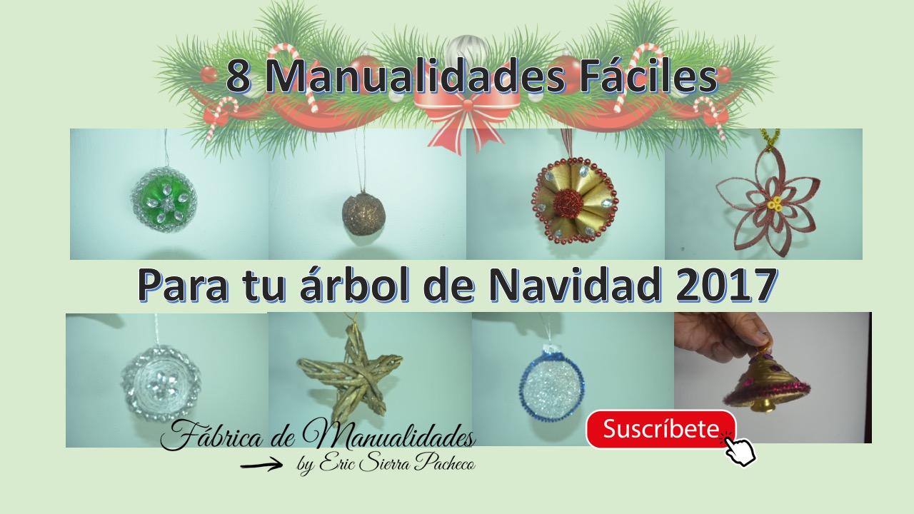 F brica de manualidades 8 manualidades f ciles para tu - Manualidades navidad 2017 ...