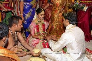Hitesh and Sri Priya wedding rituals