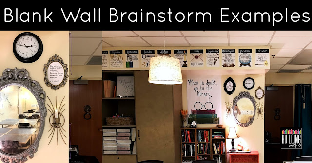 Building Book Love Classroom Design Challenge Planning