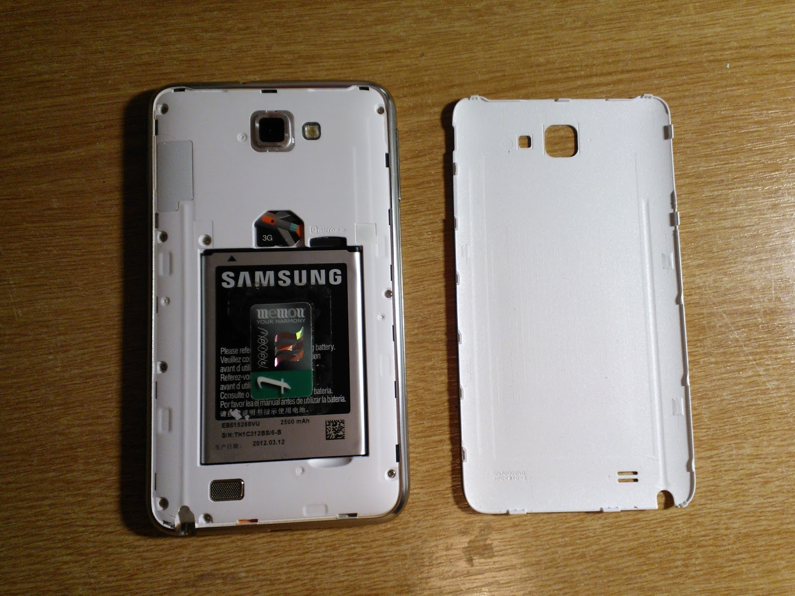 Samsung Galaxy Note 1 charging problems and repair