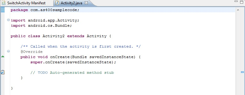 Add Activity To Android Project Using Eclipse Kumpulin Soal