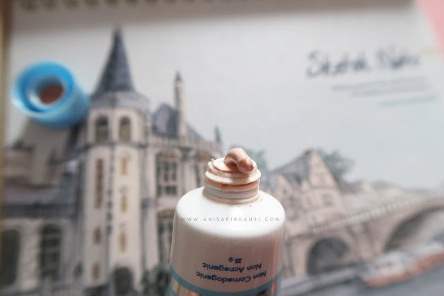 Tekstur, Warna, Aroma Melanox Premium Face UV Protector SPF 30 PA++