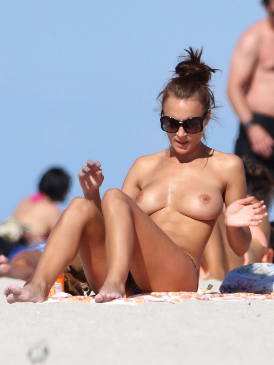 First Time Topless Beach Candid-6960
