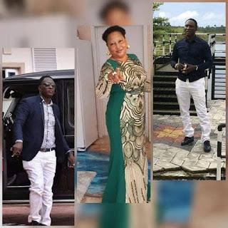 HAPPY BIRTHDAY!!! Prophetess Faith Aigbe Congratulates Prophet Jeremiah Omoto Fufeyin As He Marks Birthday Today