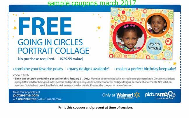 Walmart photo card coupon 2018
