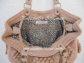 Bolsa Jolie Nude - Estampa Animal Print