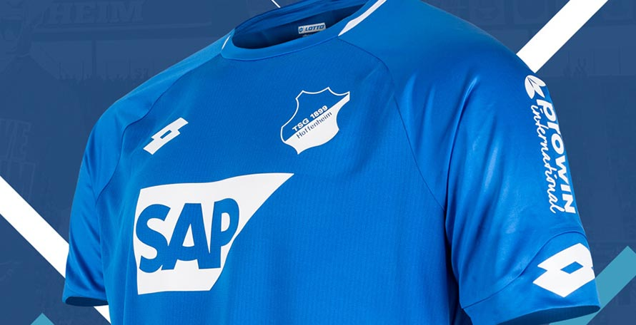 Hoffenheim 18 19 Home Kit Released Footy Headlines
